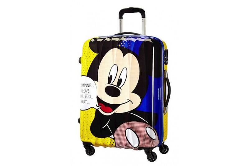 American Tourister Hypertwist Disney Mickey Mouse Hard side Cabin Case 55cm 36L