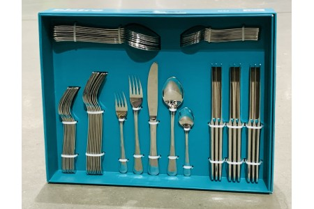 Bistro Stainless Steel 50 Piece Cutlery Set