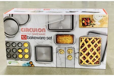 Circulon 10 Piece Steel Non Stick Bakeware Set