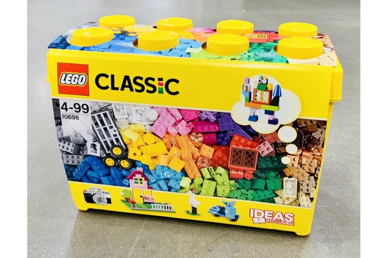 LEGO 10698 Classic Large Creative Brick Box Construction Set With Storage Box