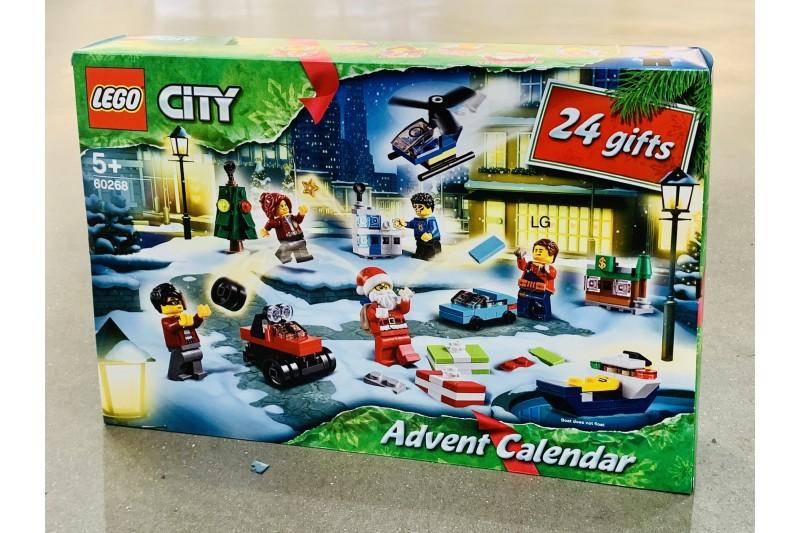 LEGO 60268 City Advent Calendar Christmas 2020 Mini Set