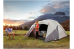 Camp Valley Core 6 Person Blockout Dome Tent Dark Room Tent Camping