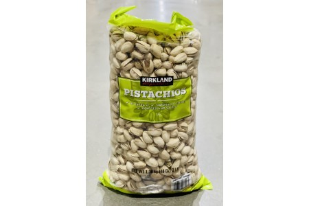 Dry Roasted in Shell Pistachios 1.36kg Kirkland Signature