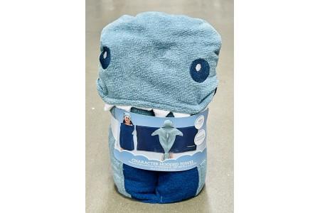 Character Hooded Towel Dinosaur