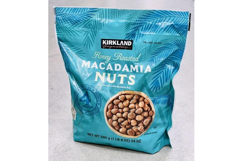 Honey Roasted Macadamia Nuts 680g Kirkland Signature
