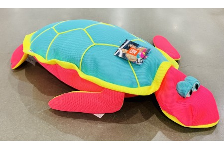 Big Joe Pool Petz Large Pool Float Zzoodle Pink Turtle