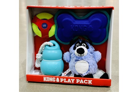 Kong Dog Toy 4 Play Pack