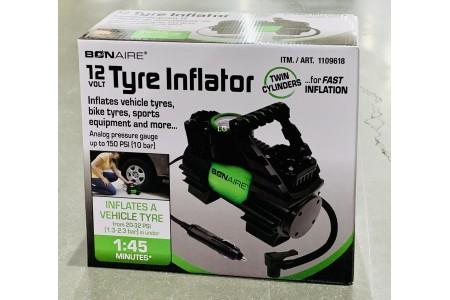 BonAire Tyre Inflator 12v Air Compressor TC12CUK