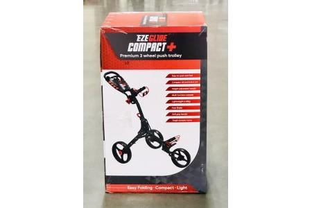 Longridge Ezeglide Compact+ Premium 3 Wheel Push Golf Cart Trolley