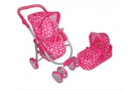 3 in 1 Deluxe Baby Pram and Carrycot