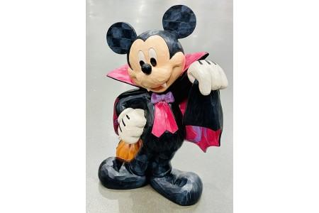 Mickey Mouse 17 Inch Halloween Vampire Mickey Greeter Jim Shore Disney