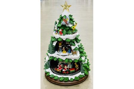 Animated Disney Christmas Tree with Music & LED Lights Christmas Decoration