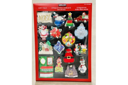 Christmas Gift Tag Pack 84 Hand Made Tags