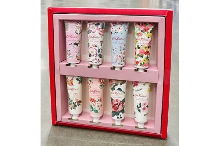 Cath Kidston Hand Cream Gift Set 8 x 30ml Red Box