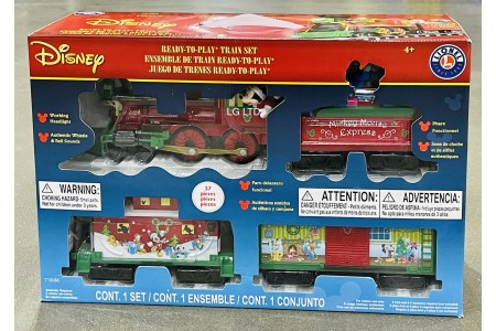 Disney Mickey Mouse Express Train Set 37 Pieces by Lionel