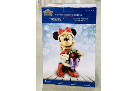 Minnie Mouse Christmas Greeter Disney Traditions 17 Inch Decoration By Jim Shore