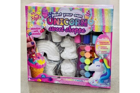 Just My Style Paint Your Own Ceramics Unicorn Sweet Shoppe