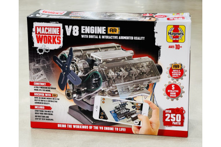 Machine Works V8 Engine With Digital & Interactive Augmented Reality Haynes