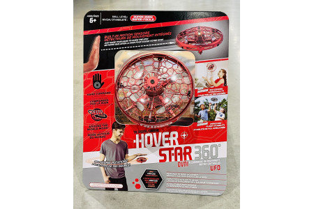 Hover Star 360° Motion Controlled UFO Drone Red