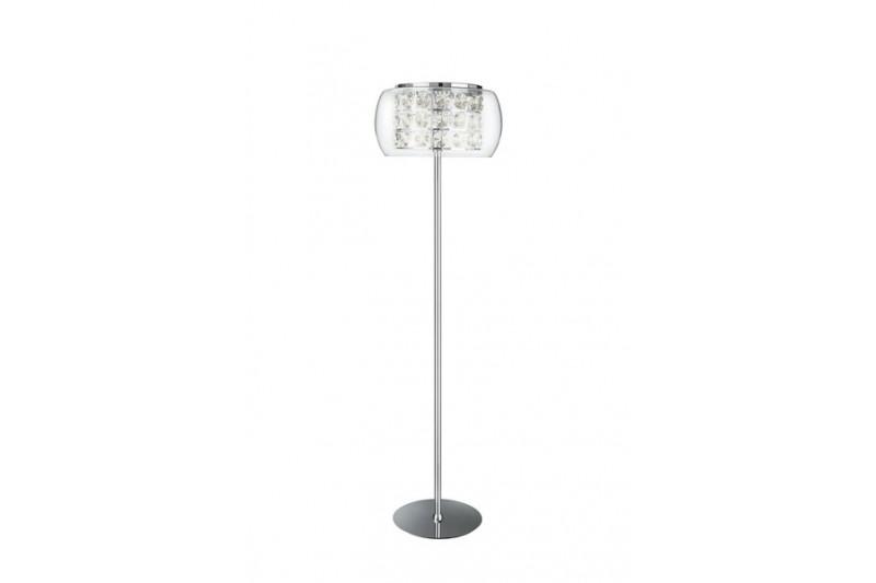 Philips eseo 378181113 belfiore chrome 10 light floor lamp aloadofball Image collections