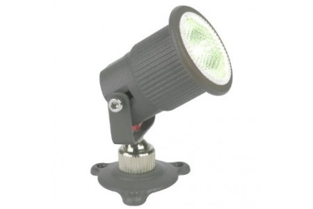 Aurora 350mA Cast Aluminium IP65 Mini 1W LED Spotlight - White