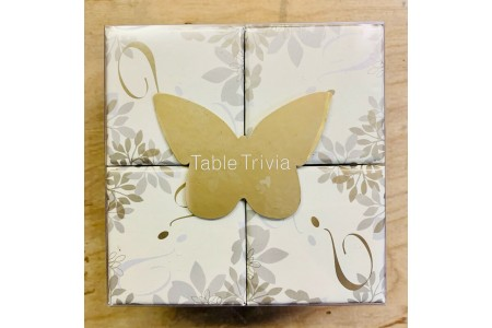 Talking Tables Country Baskets Tables Trivia Gold and Ivory