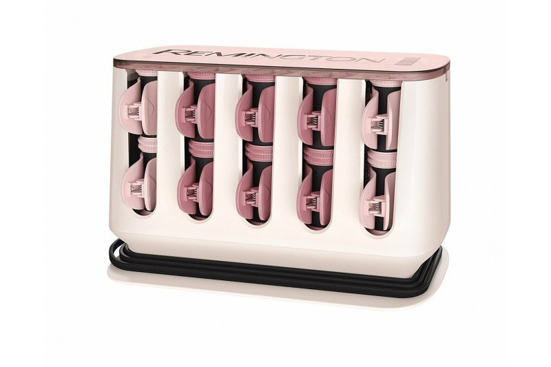 Remington Professional H9100 20 Proluxe Heated Rollers - Rose Gold