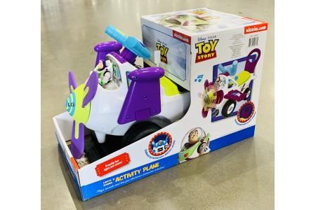Buzz Lightyear Lights n Sound Activity Plane Ride On Toy Kiddieland