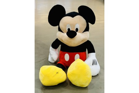 Disney Jumbo Mickey Mouse Plush Toy 60 Inch 152 cm