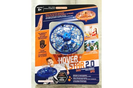 Hover Star Motion Controlled UFO R/C Drone Blue