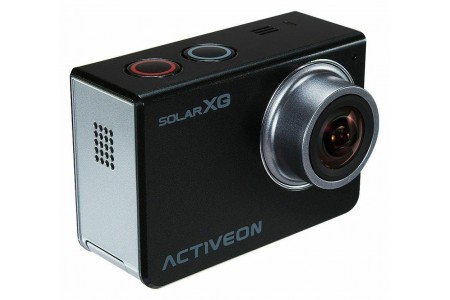 ACTIVEON XG Action Camera and Solar Station Black