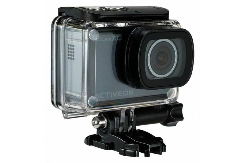 ACTIVEON XG Action Camera and Solar Station Black