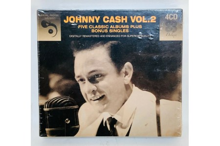 Johnny Cash Vol 2 5 Classic Albums Plus Bonus Singles [Audio CD]