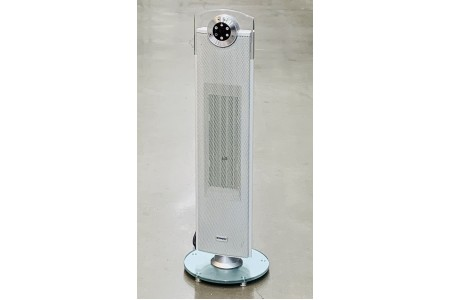 Dimplex Glen 2.5kW Studio G Tower Ceramic Fan Heater in Grey DXSTG25G
