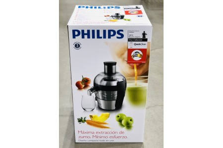 Philips Viva Collection Compact Juicer 1.5 Litre 500 Watt Brushed Aluminium HR1836/01