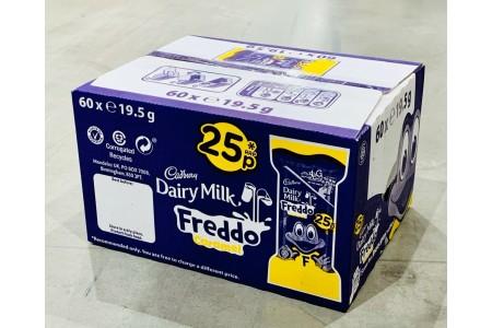 Cadbury Caramel Freddo Bar 60 x 19.5g Full Sealed Box Chocolate Sweets