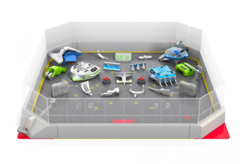 Hexbug Battlebox With Battlebot Build Your Own Arena