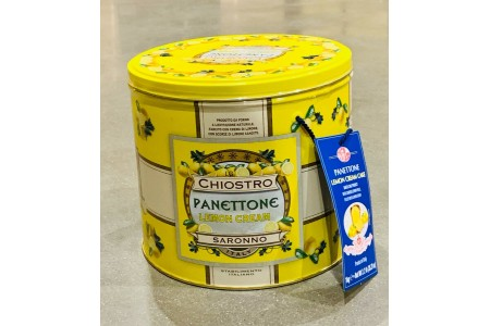 Chiostro di Saronno Lemon Cream Panettone 1kg Tin