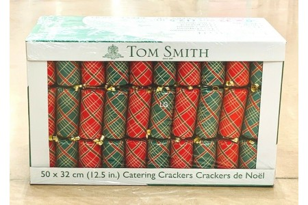 Christmas Crackers 50 Pack Family Party Catering Pack Tom Smith