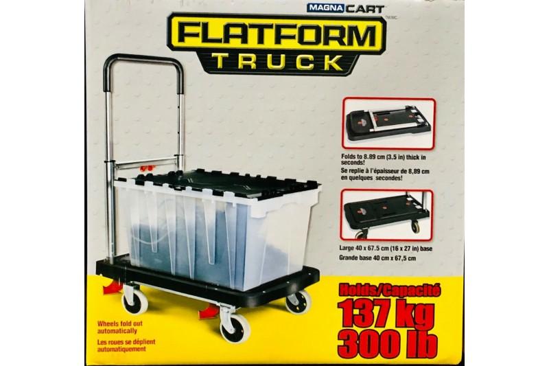 Magna Cart MFF Folding Platform Truck Trolley- Black