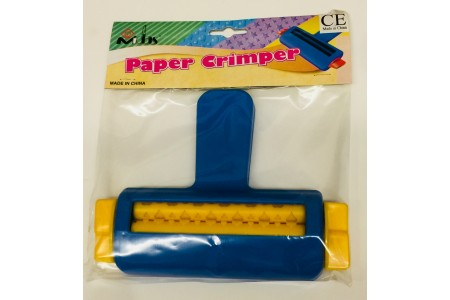 Paper Crimper Hand Held Embossing Tool Imprints Hearts