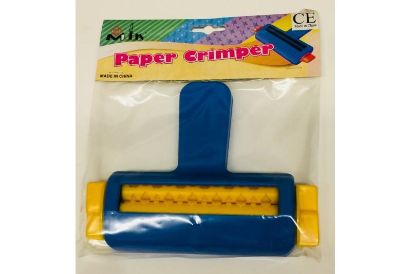 Paper Crimper Hand Held Embossing Tool Imprints Hearts