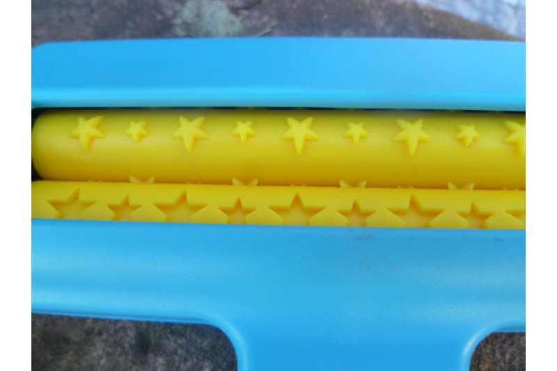 Paper Crimper Hand Held Embossing Tool Imprints STARS