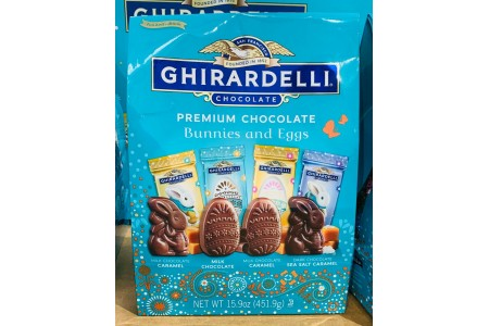 Ghirardelli Chocolate Bunnies and Eggs Easter hunt Chocolate Individual packets