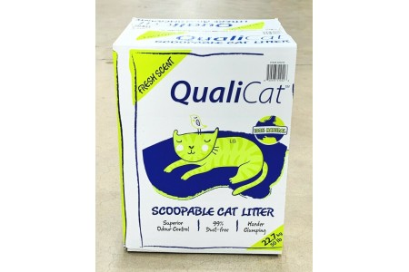 Qualicat Scoopable Cat Litter 22.7 kg