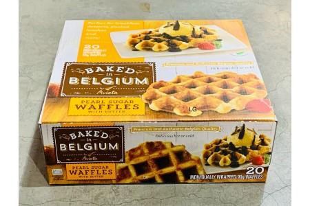 Belffles Premium Belgian Waffles Box 20 x 90g Individually Wrapped