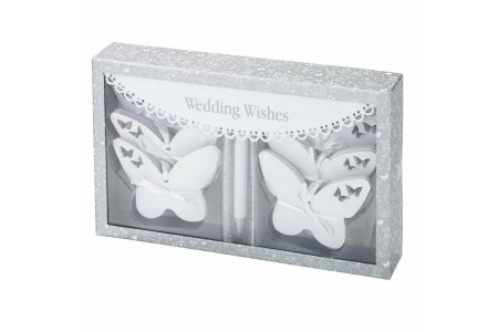 Butterfly Paper Tags Talking Tables Something In The Air Wedding White 54 Pack