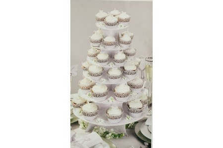 Cake Stand White Wedding Party Talking Tables Something In The Air Paper Wedding