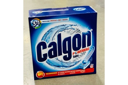 Calgon 3 in 1 Water Softener Powerball Tablets 75 Protect from Limescale & Dirt