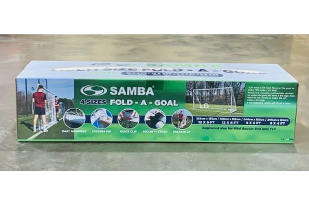 Samba Fold a Goal Multi Size 12x6 12x4 8x6 & 8x4ft Sports Football